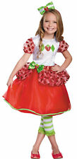 Strawberry Shortcake Deluxe Child Costume Girls Skirt Fancy Dress Disguise