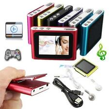 "Digital MP3 Music 1.8"" LCD Screen Media Video Movie Radio FM 6th MP4 MP3 Player"