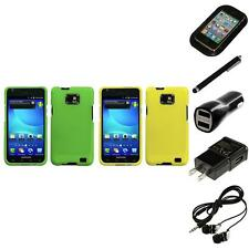 For Samsung Galaxy S2 i9100 Snap-On Hard Case Cover Skin Accessory Headphones