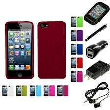 For Apple iPhone 5/5S/SE Snap-On Hard Case Phone Cover Skin Accessory Headphones