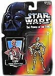 C-3PO Star Wars Power Of The Force Red Card Action Figure 1995