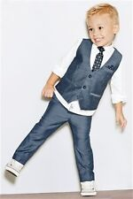 New Style Kid's Wedding Groom Tuxedos Flower Boys Children Party Prom New Suits