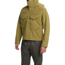 Simms Guide Gore-Tex® Fishing Jacket - Size L - Waterproof - Army Green