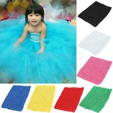1pcs Baby Girls Crochet Tube Top Crochet Headband for Tutu Skirt Pettiskirt