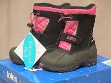 Totes Kids Boots Girls Waterproof Shell Insulated Snow Winter Size 6 & 7 BNWT