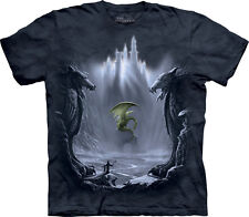 The Mountain Lost Valley Dragon Mythical Fantasy Adult Mens T Tee Shirt101298
