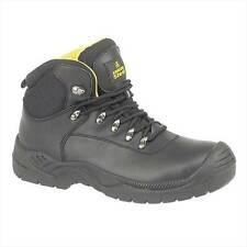 Amblers Steel FS220 New Comfort Tough Waterproof Safety Mens Work Boots Black