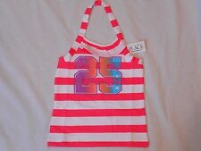 The Childrens Place TCP Girls S 5/6  M 7/8 Striped Halter Tank Top Ruffle NWT I
