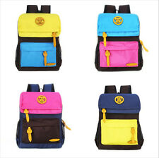 Kids Girls Travel Backpack Student Bookbag Rucksack Shoulder Bag Schoolbag