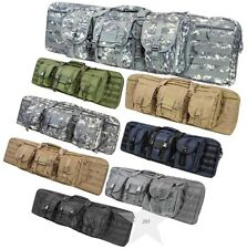 "Tactical 42"" Inch Padded Double Carbine Rifle Gun Case Bag VISM NcSTAR"