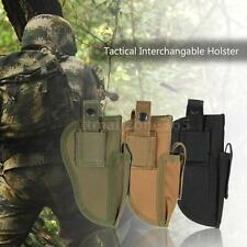 Outdoor Hunting Tactical Carry Nylon Tactical Pistol Hand Gun Holster Pouch M9A0