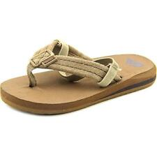 Quiksilver Carver   Open Toe Suede  Thong Sandal NWOB