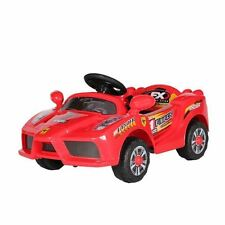 Ferrari KIDS ELECTRIC BATTERY 6V RIDE ON TOY CAR WITH PARENTAL REMOTE CONTROL