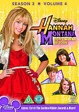 Hannah Montana - Series 3 Vol.4 DVD Brand New Sealed