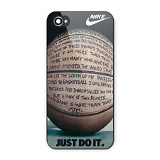 New Nike Basketball Just Do It  Custom Print On Case for iPhone 6 6Plus 7 7Plus
