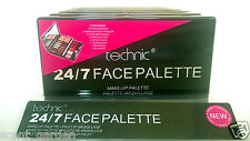Technic 24/7 FACE PALETTE all-in-1 Kit ❤ Eyeshadow Highlighter Blush Concealer ❤