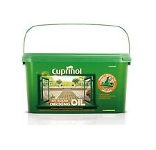 Cuprinol UV Guard Decking Oil with Pad Applicator Natural / Natural Cedar / Pine