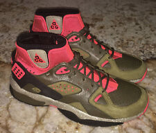 NEW Mens 8.5 NIKE ACG Air Mowabb OG Military Green Trail Hiking Shoes Snearkers
