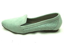 DUNE WOMENS LADIES FLAT HEEL REAL SUEDE LEATHER LOAFERS SHOE SIZE 4/37