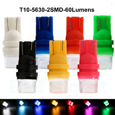 100Pcs 12V 60LM T10 5630 2 SMD Car Led Tail Bulbs Reading Light Instrument Light