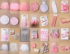 BALLET ACCESSORIES; TUTU, BUN NET, SLEEPIES, GRIPS, CLIPS, PONIOS, ELASTICS, SET