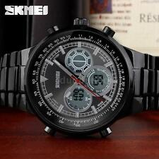 SKMEI Men Fashion Analog-Digital Dual Time Sports Watch Light Date Alarm V0C5