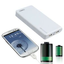 Mobile Power Bank Battery Charger 12000mAh Portable Dual USB for Smart Phones ZJ