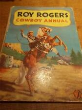 1953 ROY ROGERS COWBOY Annual Illustrated Adventures Stories Cowboys