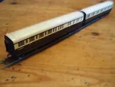 2 x Clerestory Triang/Hornby Carriages GWR 00 gauge