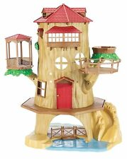 Calico Critters Country Kid Tree Wooden House Outdoor Playgrounds Affordable New