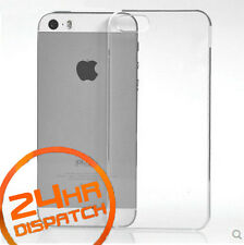New Ultra Thin Silicone Gel Slim Rubber Case For Iphone5/5s {[mc292