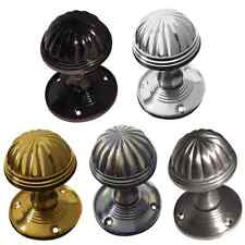 Fluted Mortice Door Knob  JV183M Interior Unsprung Door Knobs - Various Finishes