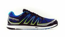 Salomon X-Celerate Mens Running Trainers Trail Shoes Blue UK Size 8 NEW