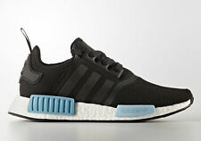 Adidas NMD R1 W Black Icey Blue Light Ice BY9951 Mesh Runner Women's 5.5-10