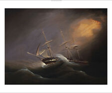 PHILIP JOHN OULESS Three Masted Brig In Stormy Seas NEW various SIZES, BRAND NEW