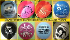 60 Personalised Printed Balloons for New Baby, Barmitzvah, Christening, Boy Girl