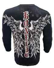 KONFLIC WINGED CROSS LONG SLEEVE  FALLEN ANGEL MEN'S  ALL OVER PRINT SERIES MENS