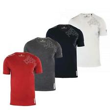Mens T Shirts Crosshatch Lightfeet V Neck Cotton Short Sleeve Casual Top