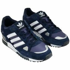 ADIDAS Originals ZX 750 Mens Trainers Suede Running Shoes - Navy/White