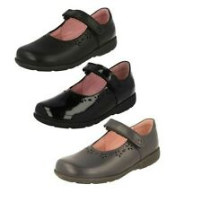 Girls Start Rite Mary Jane School Shoes Label Emily-W