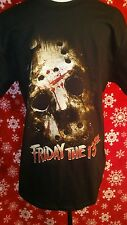 Friday the 13th shirt large horror movie mortal kombat Sizes  S, M, L, XL, 2XL