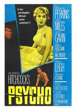 Psycho  FILM MOVIE METAL TIN SIGN POSTER WALL PLAQUE