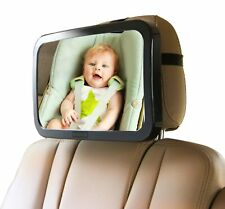 NEW Enovoe Baby Car Mirror Large Convex Shatterproof | rear facing car seat