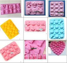 Cake Mold Animal Soap Mold Flexible Silicone Mould For Candy Chocolate Lollipop