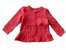 NWT Girl's Gymboree Cozy Cabin pink long sleeve shirt top ~ 6 12 12 24 months