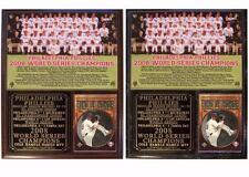 Philadelphia Phillies 2008 World Series Champions Photo Card Plaque