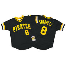 Willie Stargell 1982 Authentic Mitchell & Ness Mesh BP Jersey Pittsburgh Pirates
