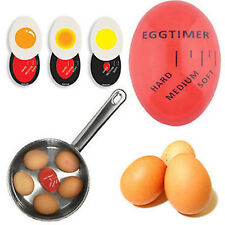 HOT Egg Perfect Color Changing Timer Soft Hard Boiled Eggs Cooking Kitchen Tools