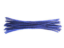 Blue Cotton Pipe Cleaners | 15cm or 30cm | UK Made