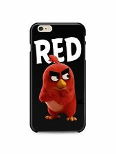 Angry Birds Red Hard Phone Case Cover for iPhone & Samsung S4 S5 S6 S7 S7 Edge